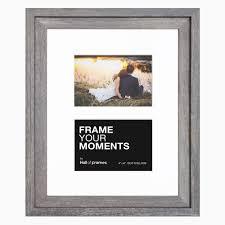 4 x 6 barnwood duo collage frame