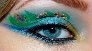 hot midnight pea eye makeup free