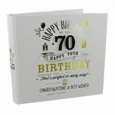 signography 70th birthday gift photo