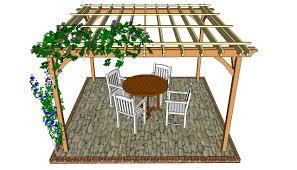 patio pergola plans myoutdoorplans