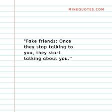 quotes on fake people and fake friendship minequotes