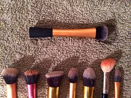 how i wash my makeup brushes what she