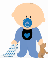 free free baby boy clipart