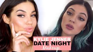 kylie jenner date night makeup