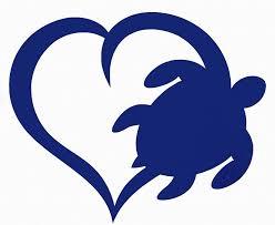 Sea Turtle Heart Vinyl Decal Bumper Sticker Laptops Windows Tumblers Cars Ebay