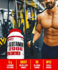 l glutamine 2000 san nutrition