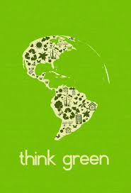 earth day poster think green earth day posters go green