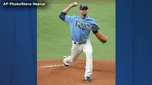 Tampa Bay Rays pitcher Charlie Morton ...