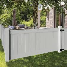 Freedom Emblem 4 Ft H X 8 Ft W White Vinyl Flat Top Fence Panel In The Vinyl Fence Panels Department At Lowes Com