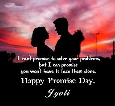 jyoti promise day quotes messages and images
