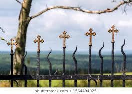 Graveyard Fence Images Stock Photos Vectors Shutterstock