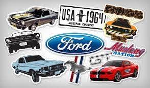 Custom Ford Stickers Highest Quality Stickers Stickeryou