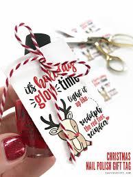 nail polish printable gift