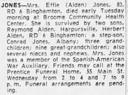 Obituary for Effie JONES (Aged 83) - Newspapers.com