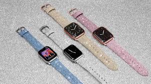 glitter apple watch band casetify