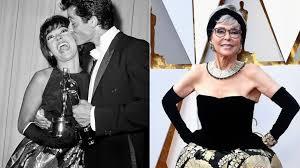 Rita Moreno wears her 1962 Oscars dress 56 years later - ABC News
