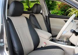 faux leather seat covers custom fit