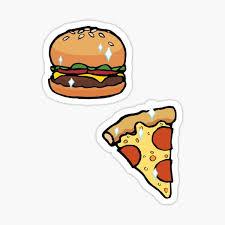 Cheeseburger Stickers Redbubble