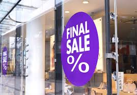 Final Sale Sign Sale At A Shoes Store Shopping Shoes Store Window G Force Signs Graphics