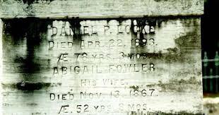 Epsom, NH: Tombstone Tuesday - Abigail (Fowler) Locke
