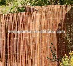 Willow Branch Fence Panels