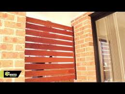 How To Install A Plinth And Rails For A Picket Fence Diy At Bunnings Youtube