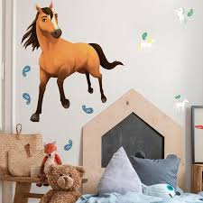 Room Mates Spirit Riding Free Peel And Stick Giant Wall Decal Wayfair