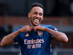 I belong here': Aubameyang signs new ...