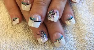 20 white tip nail art designs ideas