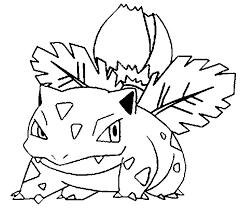 Kleurplaten Pokemon Ivysaur Kleurplaten Pokemon