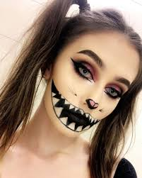 easy scary makeup ideas for saubhaya
