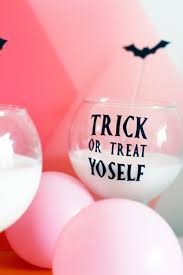 Diy Halloween Pun Glass Vinyl Stickers For Halloween Party Bespoke Bride Wedding Blog