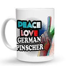 com makoroni peace love german pinscher dog dogs oz