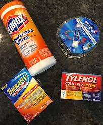 being prepared for cold and flu season