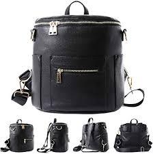 com mini faux leather backpack