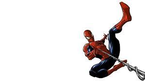 spider man white hd cartoon ic