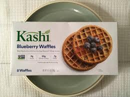 kashi blueberry waffles review