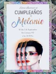 20 Invitacion Katy Perry Cumpleanos 15 Anos Musica 400 00 En