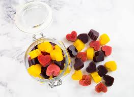 homemade gummies no added sugar