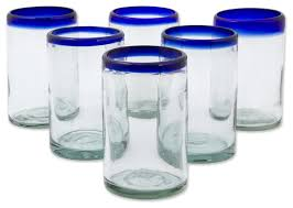 blown glass drinking glasses classic