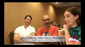 "Elise Eberle, Adam Simon, & Iddo Goldberg ""Salem"" SDCC 2016 ..."