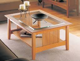 craftsman coffee table woodworking