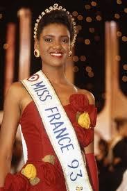 Veronica De La Cruz was the first black to win Miss France in 1993. | Black  beauties, Beauty queens, Beauty