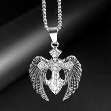 17 big wing eagle pendant necklace w