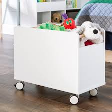 Baby Toddler Blue Red Toy Box Storage Bench Bear Plane Kids Room Organizer Home Garden Toy Boxes