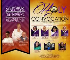 COGIC CA West Coast - Holy Convocation 2019 • Faith in the Bay