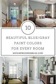the best blue gray paint colors grey