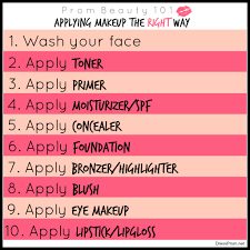 prom beauty 101 applying your makeup