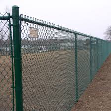 China Green Or Black Vinyl Coated Chain Link Garden Fence China Vegetable Garden Fence Chain Link Garden Fence