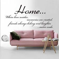 Large Home Family Friends Quote Wall Sticker Living Room Entryway Home Family Love Quote Wall Decal Kitchen Hallway Vinyl Wall Stickers Aliexpress
